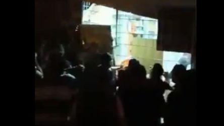 VİDEO   Ankara'da tehlikeli gerginlik
