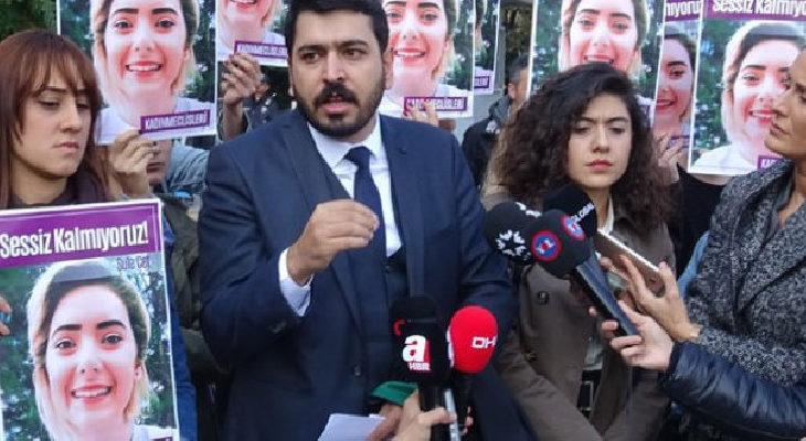 Şule Çet davasının avukatı Umur Yıldırım'a 'kadına şiddet'ten uzaklaştırma kararı