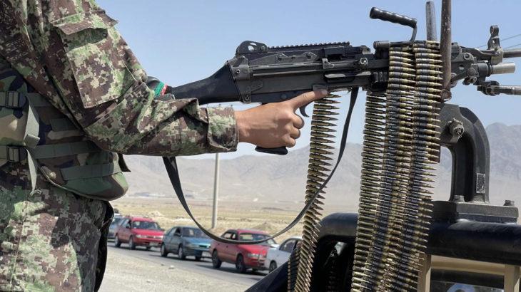 Cihatçı terör örgütü Taliban, ağır silah ve zırhlı araç ihracına başladı