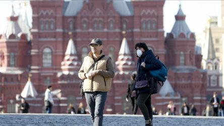 Rusya'da son 24 saatte 22 bin yeni Kovid-19 vakası