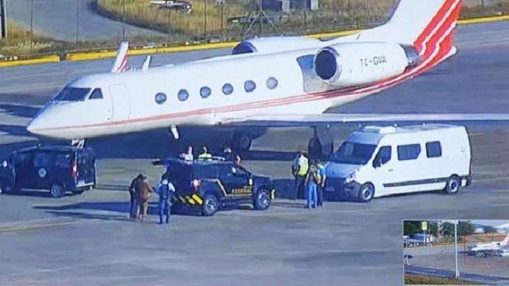 Uyuşturucu yüklü Türk uçağının pilotu motorları açıp kaçmaya çalışmış