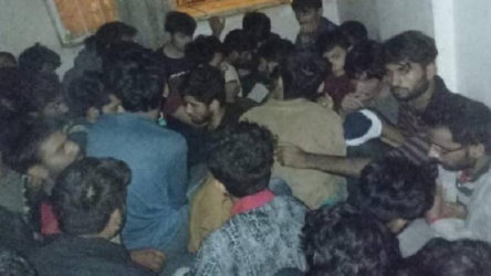 Van'da iki daireden tam 115 düzensiz göçmen çıktı