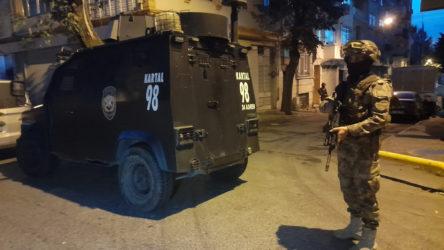 İstanbul'da şafak vakti uyuşturucu operasyonu: 35 haneye baskın