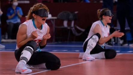 Türkiye Golbol Kadın Milli Takımından altın madalya