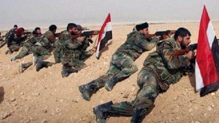 Suriye ordusundan Türkiye destekli silahlı grupların olduğu yerlere topçu ateşi