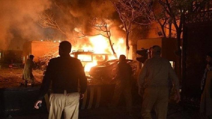 Pakistan'da patlama: 3 ölü, 20 yaralı