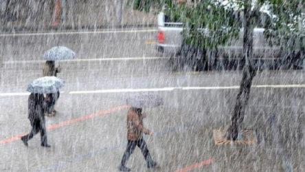 AFAD'dan 8 il için kuvvetli yağış ve sel uyarısı