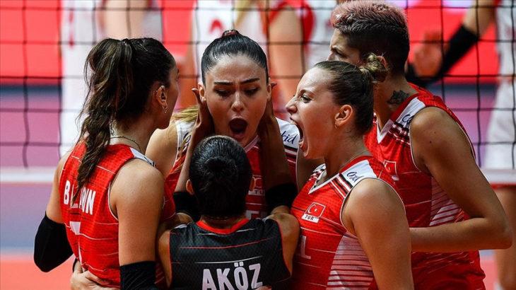 A Milli Kadın Voleybol Takımı, Avrupa üçüncüsü oldu