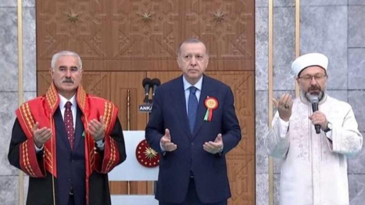 Adli Yıl 'dua'yla açıldı, Yargıtay Başkanı da cübbesiyle katıldı