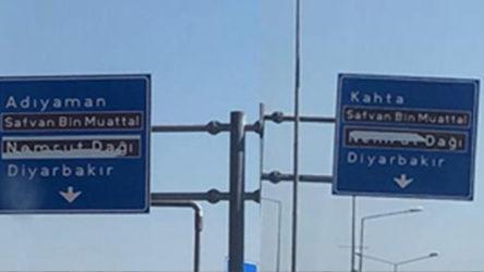 AKP'li vekiller ve gerici dernek, Nemrut Dağı ismini tabelalardan sildirdi