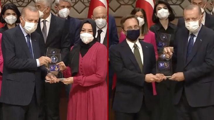 Erdoğan, medyasını ödüllendirdi: Altun, Kaplan, A Haber...