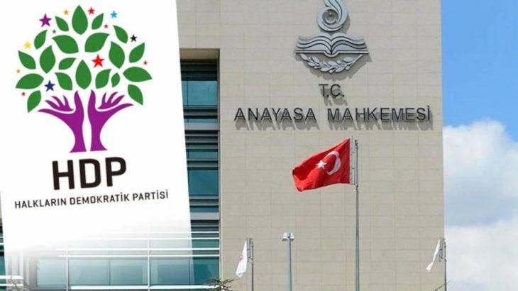 Anayasa Mahkemesi HDP'nin ek süre talebini kabul etti: HDP'ye 30 gün ek süre verildi