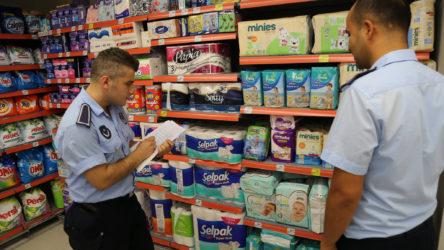 İstanbul'da zincir marketlere eş zamanlı fiyat denetimi baskını