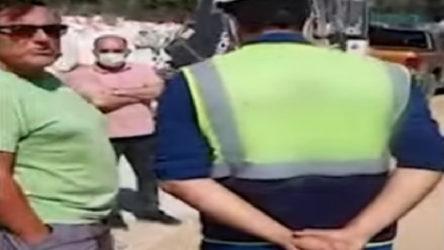 VİDEO   'Eczacıbaşı silahlı adamlarıyla şantiye bastı' iddiası