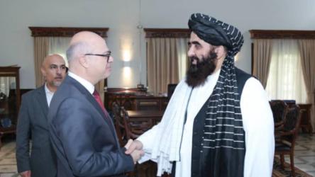 Kabil Büyükelçisi Taliban'ın Dışişleri Başkan Vekili ile görüştü