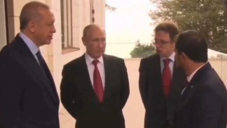 VİDEO | Putin'le antikor üzerine sohbet eden Erdoğan'dan ilginç yanıt: Çok düşük ya