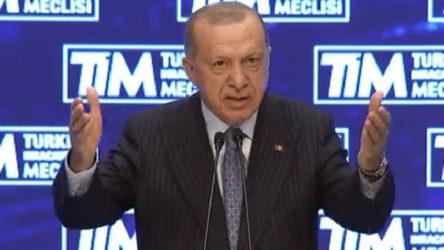 Erdoğan'dan patronlara: Yol, mücadele, dava ve kader arkadaşlarım...