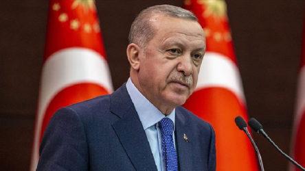 Erdoğan: Anayasa'nın ilk dört maddesini değiştirme fikri CHP'ye mi aittir?