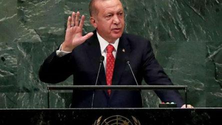 Erdoğan'dan BM'de 'siyasi çözüm' çağrısı