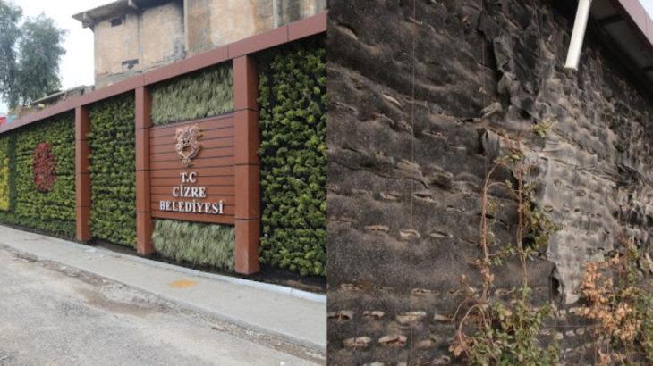 Cizre'de kayyım manzaları: 4 milyon TL'ye mal olan 'Dicle Dikey Bahçe' harap oldu