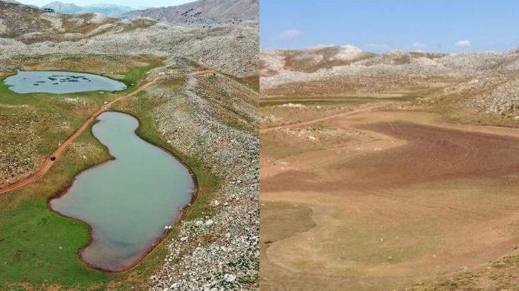 İkiz Göller tamamen kurudu
