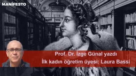 İlk kadın öğretim üyesi: Laura Bassi