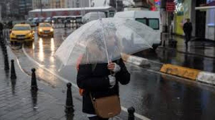 Meteoroloji'den birçok il ve bölge için sağanak yağış uyarısı