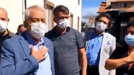 AKP'li başkan, cemevi açılışında Diyanet eleştirisini hazmedemedi