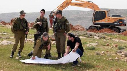 İsrail Beytüllahim'de Filistinlilerin arazilerine el koydu