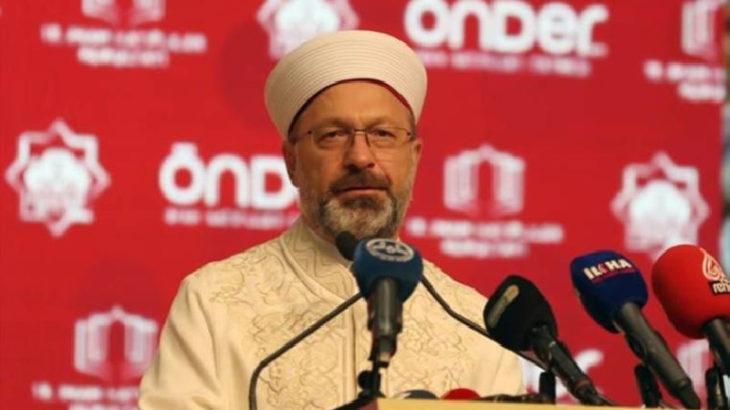 Diyanet İşleri Başkanı Ali Erbaş: Bir asırdır kurulan kirli senaryolar tutmadı