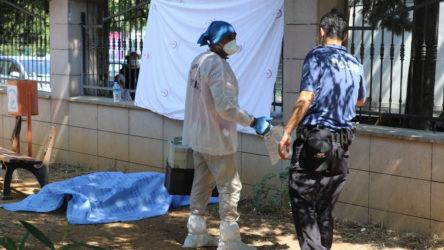 Memleketten insan manzaraları: Bir yurttaş hastane bahçesindeki bankta ölü olarak bulundu