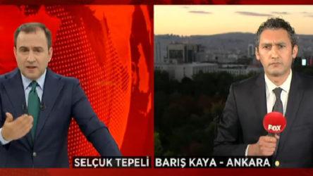 FOX TV muhabiri Barış Kaya'dan Ömer Çelik'e yanıt: Sorma dediği soruları sorduğum için...