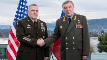 Rusya ve ABD genelkurmay başkanları Helsinki'de buluştu