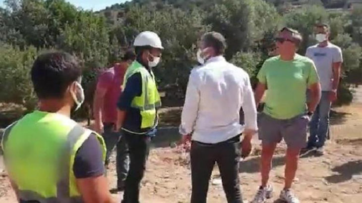 Şantiye bastığı iddia edilen Bülent Eczacıbaşı hakkında suç duyurusu