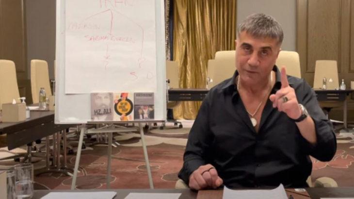 Sedat Peker 'bilgi kaynağını' açıkladı