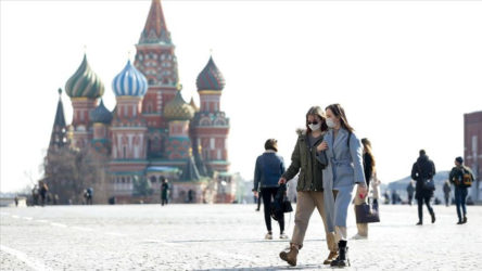 Rusya'nın Covid-19 tablosu
