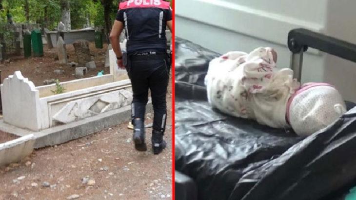 Mezarlıkta gömülü bulunan bebekle ilgili iki gözaltı