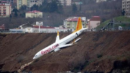 Trabzon'da pistten çıkan yolcu uçağına ilişkin rapor tamamlandı