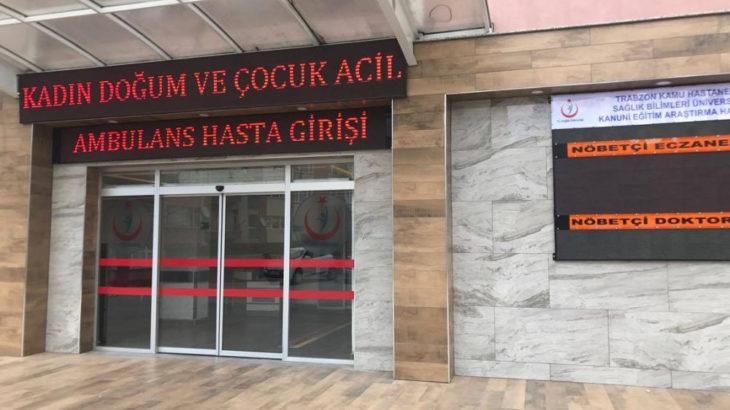 Trabzon'da pandemi döneminde anne adayı ölümleri 7 kat arttı