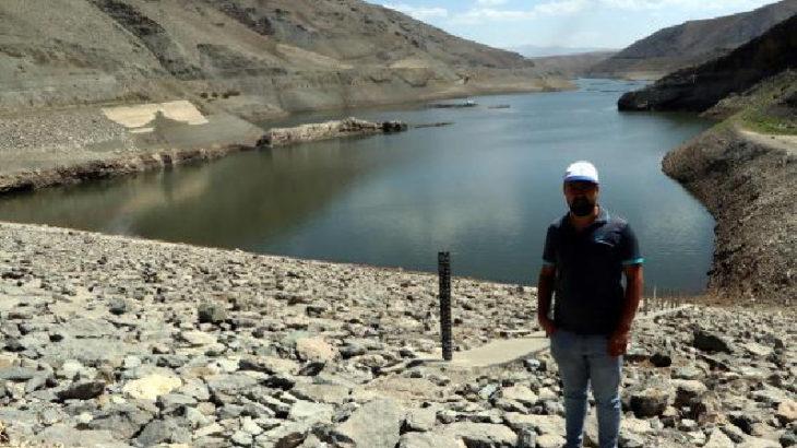 Zeyrek Barajı'nda kuraklık alarmı