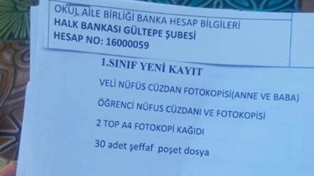 Yeni Milli Eğitim Bakanı'nın ilk icraati velilere 'IBAN' dağıtmak oldu