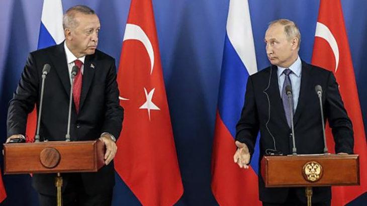 Erdoğan, Putin ile telefonda görüştü: Bölgesel konular ele alındı