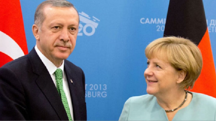 Angela Merkel, giderayak İstanbul'a geliyor