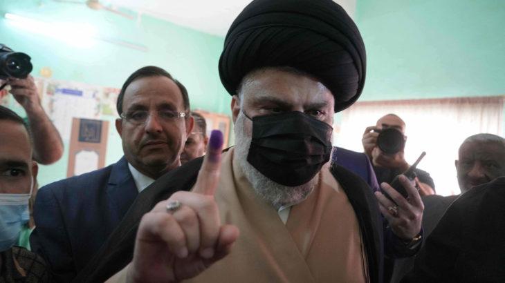Irak'ta seçimleri Şii Sadr Hareketi kazandı