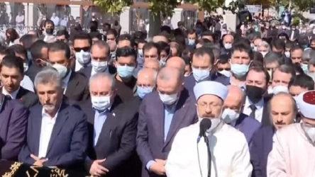 Erdoğan Asiltürk'ün cenazesinde konuştu: