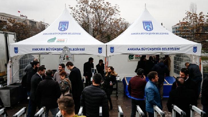 Ankara'daki tanzim satıştan milyonluk zarar
