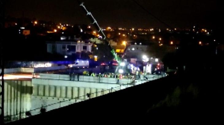 İstanbul'da metro inşaatında halat koptu: Yaralı işçiler var