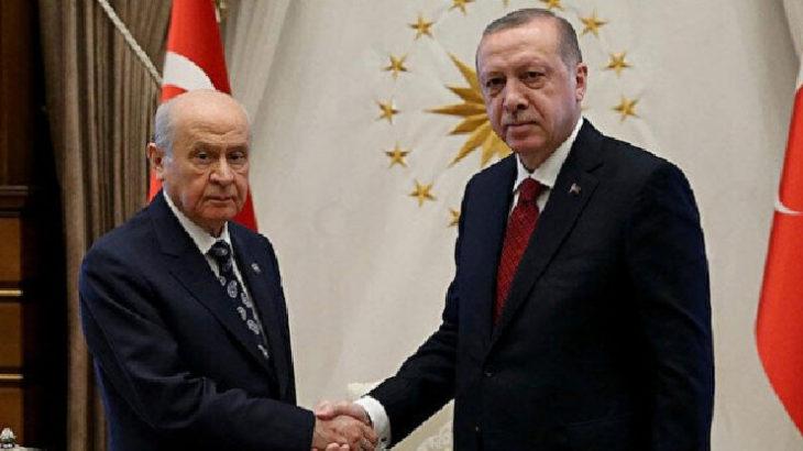 Kabine toplantısı öncesinde Erdoğan ve Bahçeli görüşecek