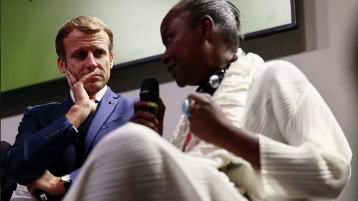 Afrikalı gençten Macron'a tokat gibi cevap: Afrika olmasaydı Fransa olmazdı