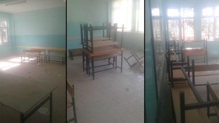 Gaziantep'te öğrencisiz okullar harabeye döndü